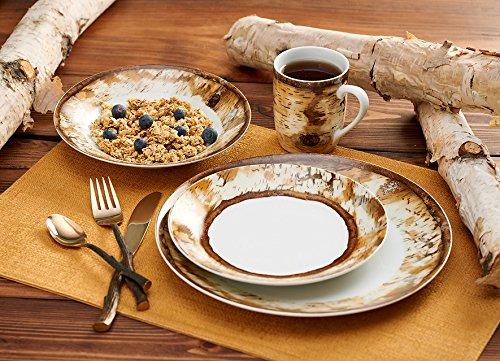 Hardwood Forest Dinnerware Set by Susan Knowles-Jordan