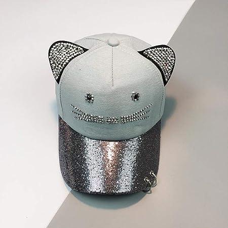 kyprx Gorras de béisbol para Hombres Béisbol para Hombres Cute Cat ...