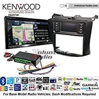 Volunteer Audio Kenwood DNX574S Double Din Radio Install Kit with GPS Navigation Apple CarPlay Android Auto Fits 2003-2007 Honda Accord