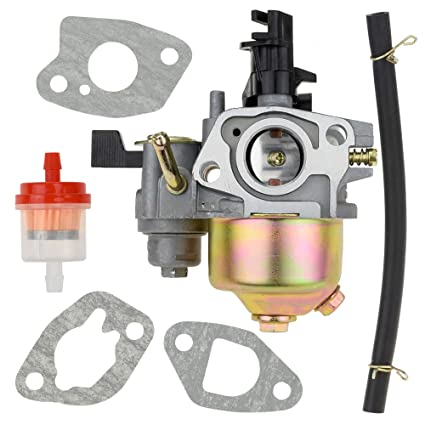 176bb74c0c3 Carb Carburetor with Gaskets Fuel Line Filter for Coleman Powersports  CT200U Trail 200 Mini bike Twister