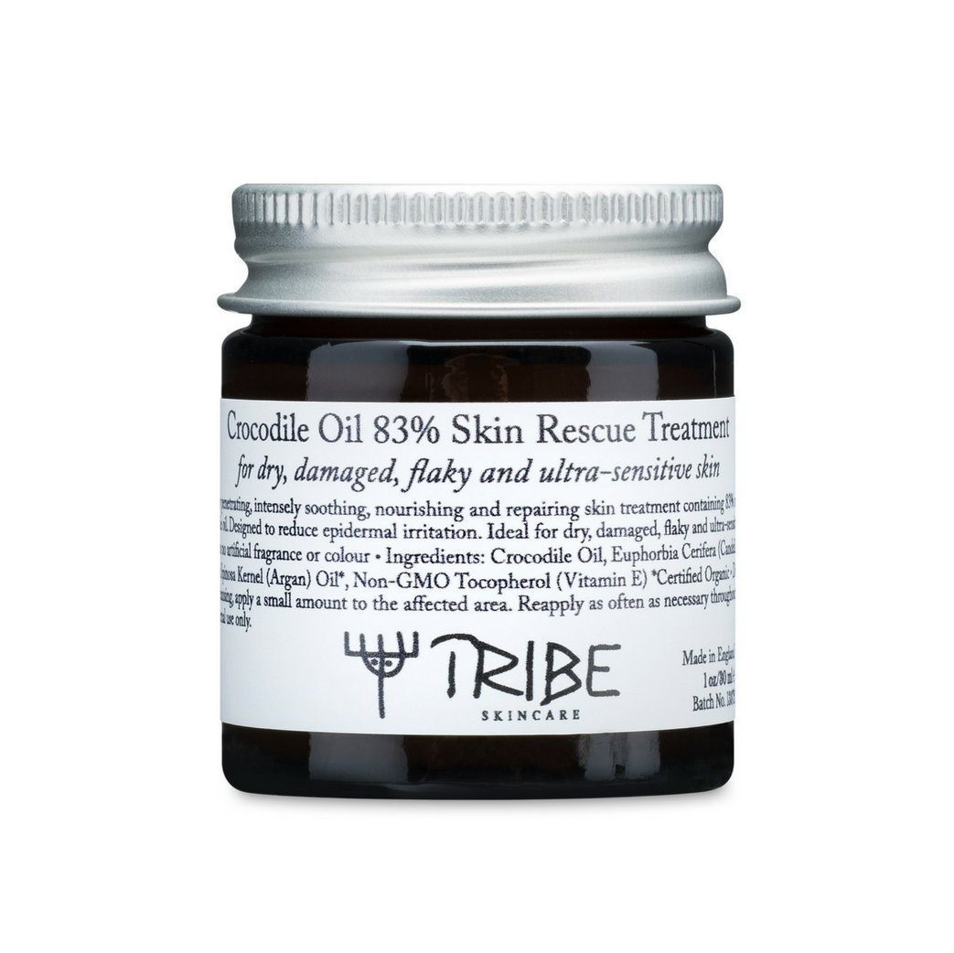Tribe Crocodile Oil 83% Skin Rescue Treatment for Dry, Damaged, Flaky and Ultra-Sensitive Skin 30ml by Tribe Skincare (Image #2)