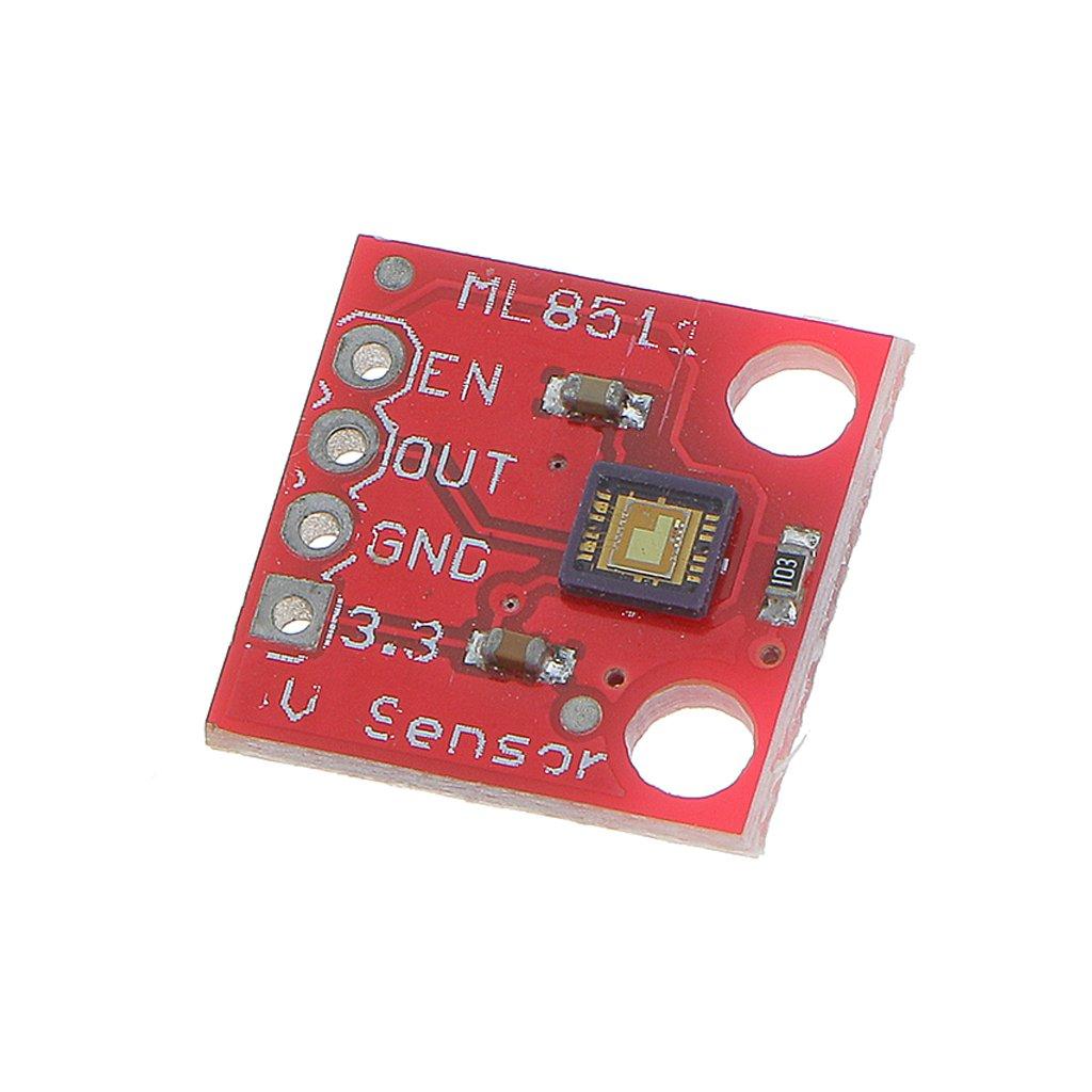MagiDeal ML8511 UV Detección UVB Ray Detector Módulo de Prueba Sensores: Amazon.es: Juguetes y juegos