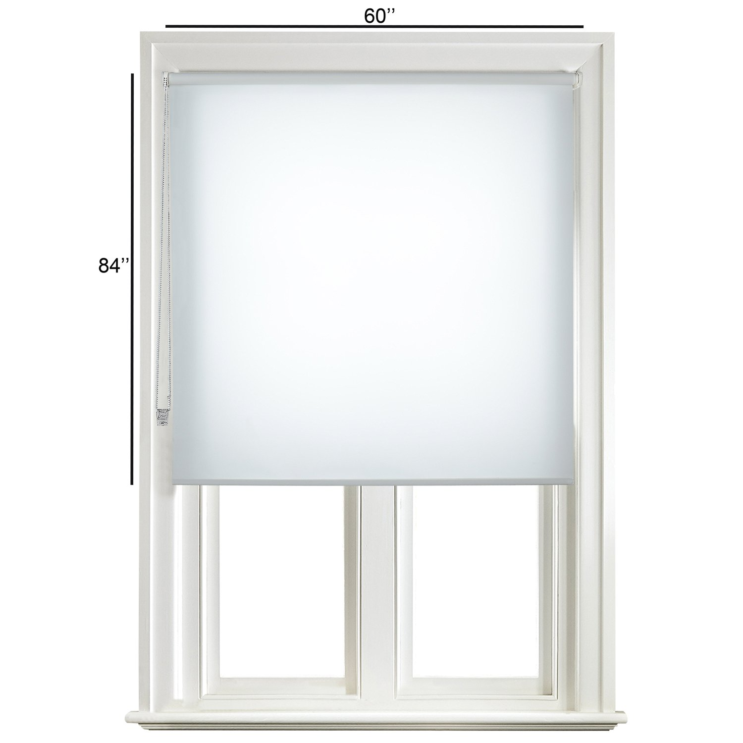 Buy Deco Window Roller Blind 60(W) X84(L) White Online At Low