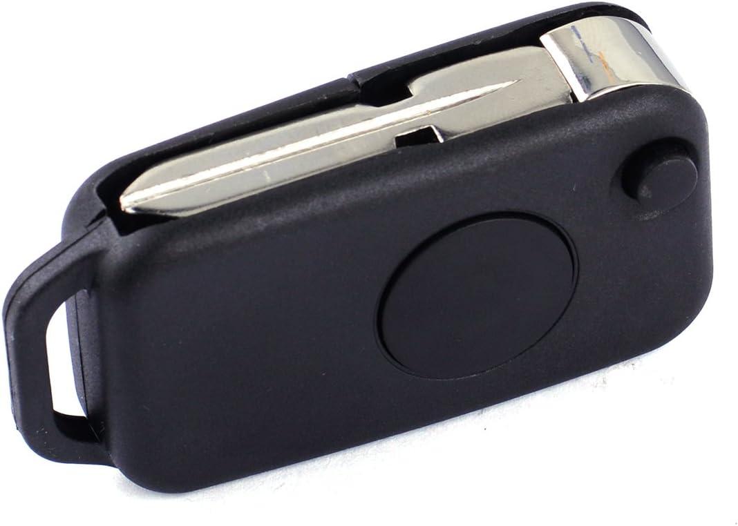 3-Buttons Key Housing Shell Case Fit Mercedes W168 W202 W203 W208 W210 A B C E