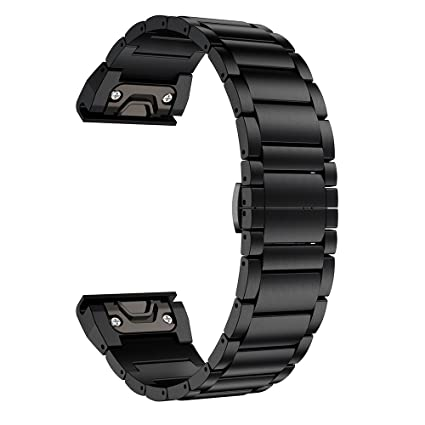 Amazon Com Ldfas Fenix 5x Plus Band Titanium Metal Quick Release