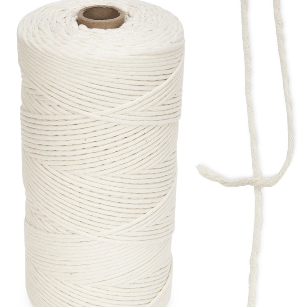 3mm Single Strand 100% Cotton x 1,500 ft