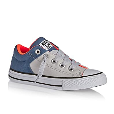 c5f45c90ffc8 Chuck Taylor All Star High Street Slip Shoes - Boys - Grey Mouse Blue Coast