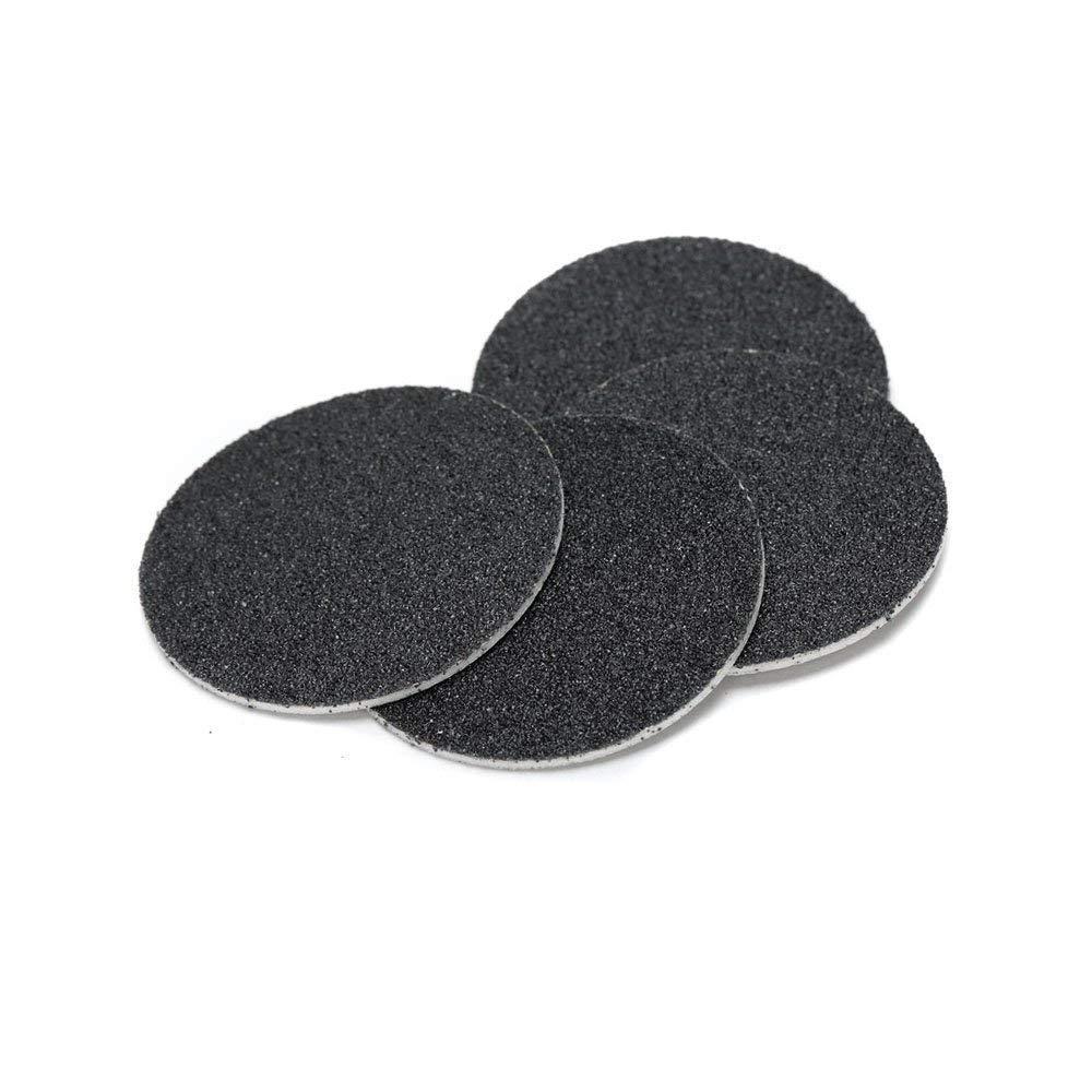 Anself Rasp Files Replacement Sandpaper Discs Pad Sanding Paper For Electric Foot File Callus Hard Dead Skin Remover Foot Rasp Grinding Tool 60PCS