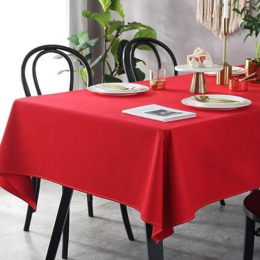 XTUK hogar Mantel Decoración navideña Mantel Mesa de café Mantel ...