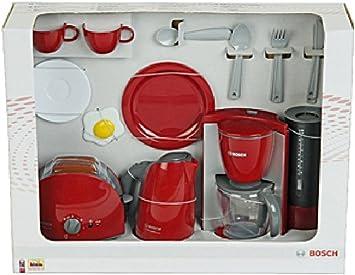 Niños Cafetera Eléctrica/ – Juego de desayuno Bosch, con hervidor ...