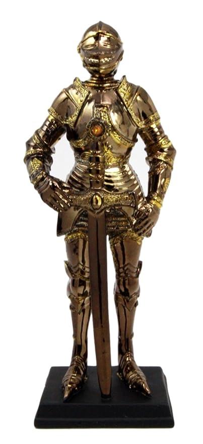 Amazon.com: Medieval Traje de Caballero de la armadura de ...