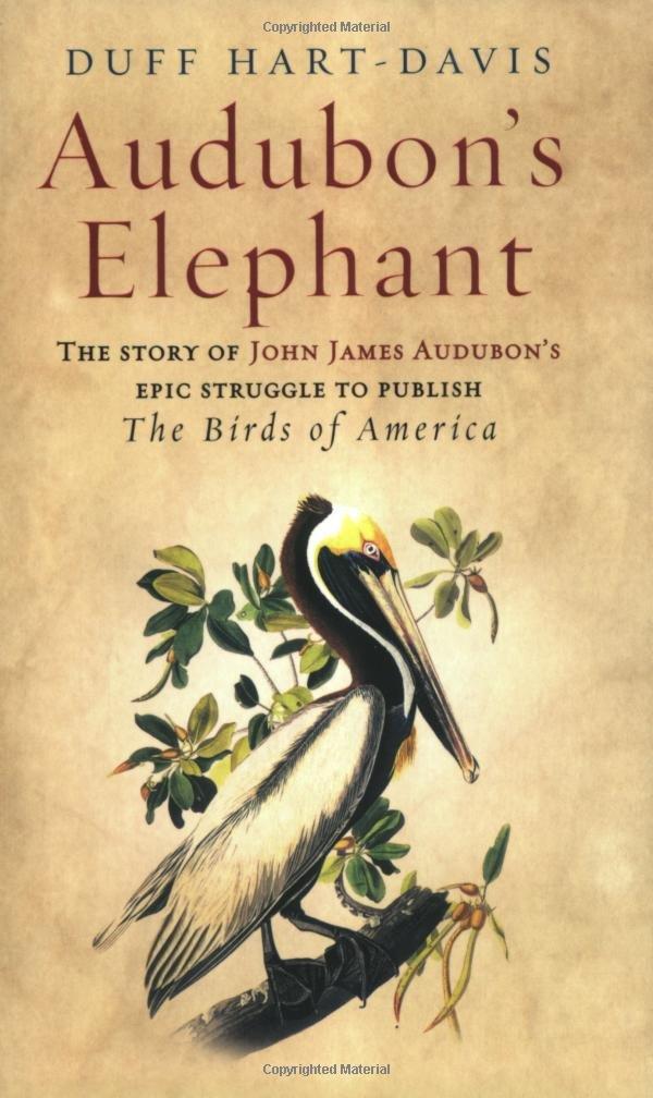 Read Online Audubon's Elephant : The Story of John James Audubon's Epic Struggle to Publish the 'Birds of America ebook