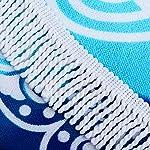 Ricdecor Mandala Towel - tassels