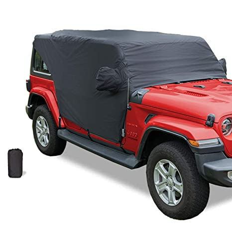 Best Storm Doors 2020.Yoursme Cab Cover 82215370 Car Cover Protection For 2007 2020 Jeep Wrangler Jl Jk 4 Door Hard Top Off