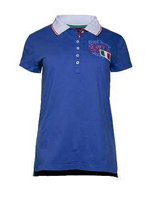 brand new 4eeae 5d866 Tommy Hilfiger Italia Damen Polo Shirt (S, Blau): Amazon.de ...