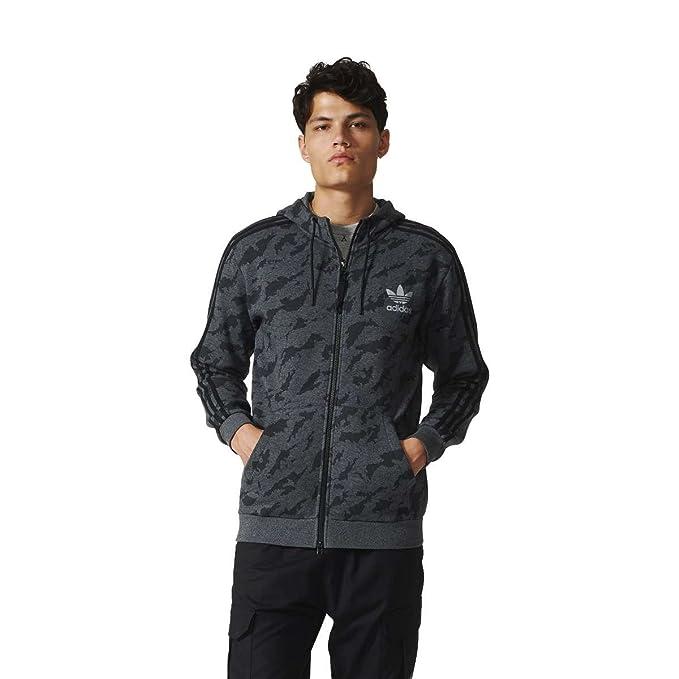 Adidas Con Amazon Cierre Ropa Fz Gris Training Hd es 2xl Sudadera qrCw5q