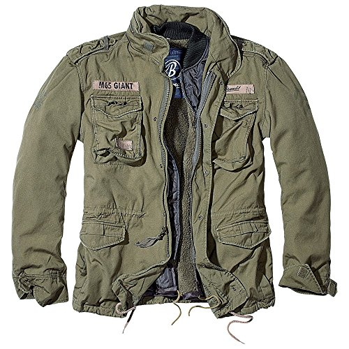 (Brandit Men's M-65 Giant Jacket Olive Size XL)
