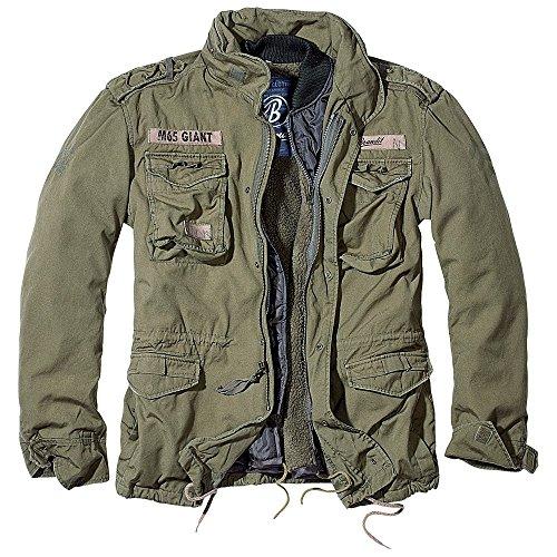 2695bf5025d19 Brandit Men's M-65 Giant Jacket Olive Size XXL