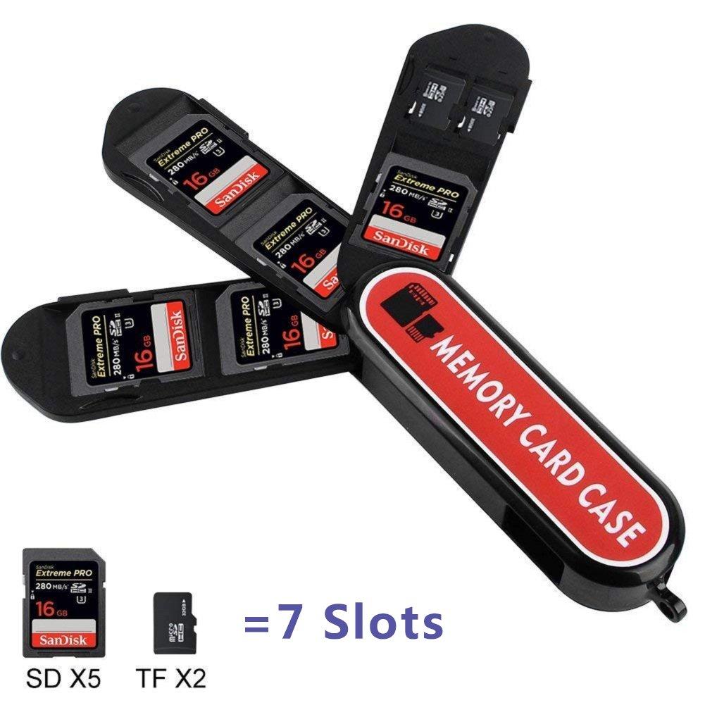 Soporte de tarjeta de memoria, caja de almacenamiento de la ...