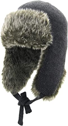 American Rag Pom Pom Faux Fur Trapper Winter Hat