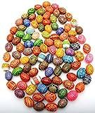 Easter Painted Eggs Wooden Ukrainian Pysanky Pysanka, Set of 100