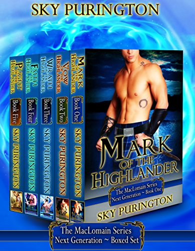 The MacLomain Series: Next Generation Boxed Set (Books 1-5) (Generation Set Next)