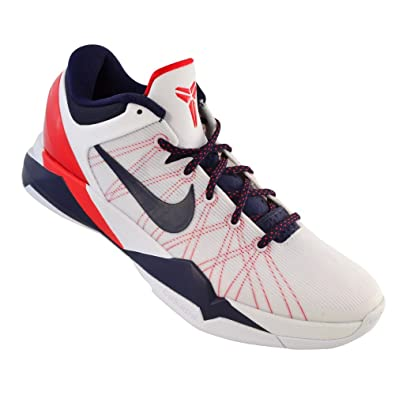 new products 59c90 3941a nike zoom kobe VII 7 system mens basketball trainers 488371 102 olympic  edition sneakers shoes (