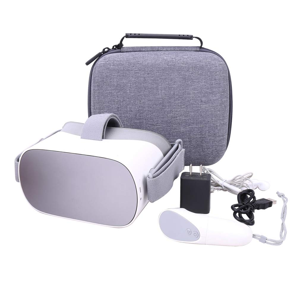 Aenllosi Hard Case for fits Oculus Go VR Headset (Gray) by Aenllosi