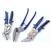 Set tijeras profesionales de metal chapa 2 Ideal