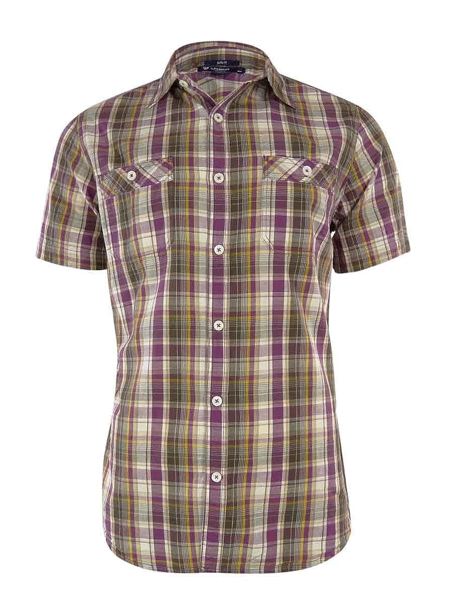 Cremieux Classics Mens Slim Fit Woven Plaid Shirt