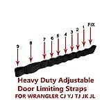VOFONO Dual Heavy Duty Strong Adjustable Door