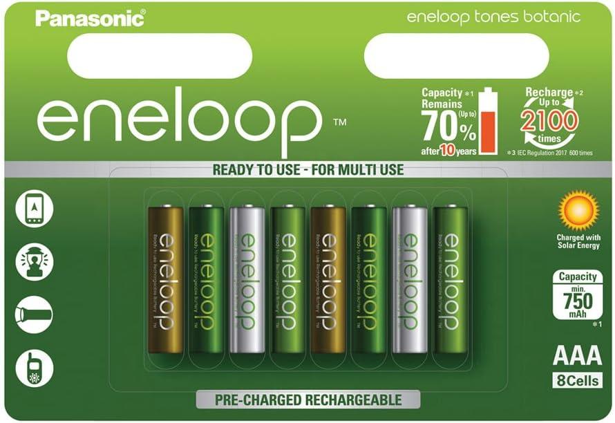 Panasonic Eneloop Botanic Ready To Use Ni Mh Battery Elektronik