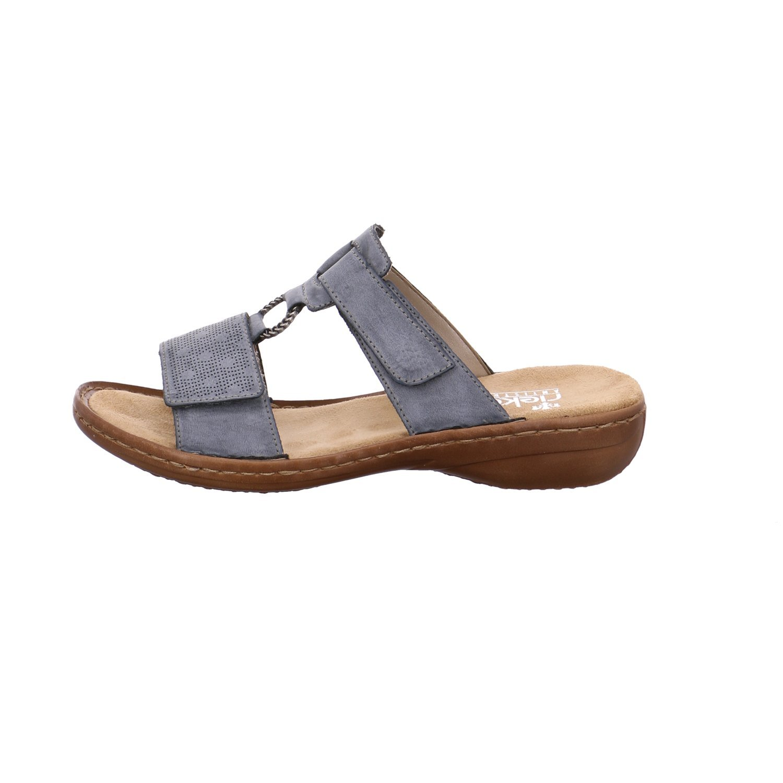 b67066867dd1 Rieker DA-Sandale Größe 42 Azur  Amazon.de  Schuhe   Handtaschen