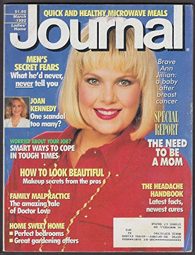 LADIES' HOME JOURNAL Ann Jillian Joan Kennedy 3 - Ann Journal