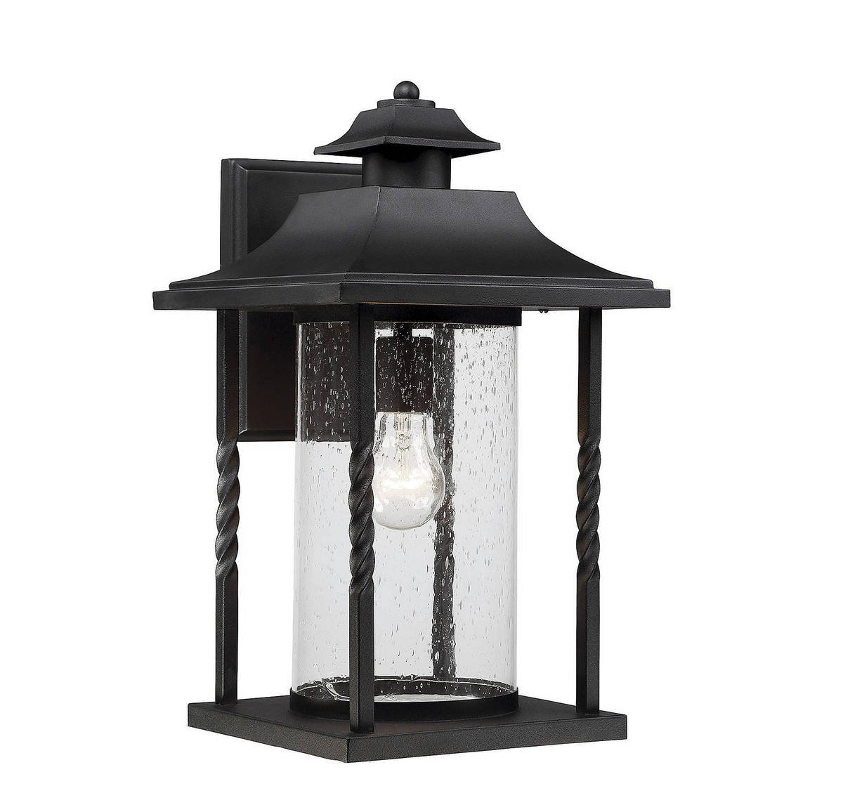 Savoy House 5-1234-BK Dorado Outdoor Wall Lantern in Textured Black