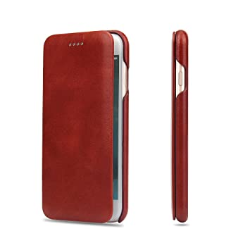 de4a6850ee Amazon | iPhone6ケース iPhone6sケース【TYESQII】最高級本革(牛革 ...