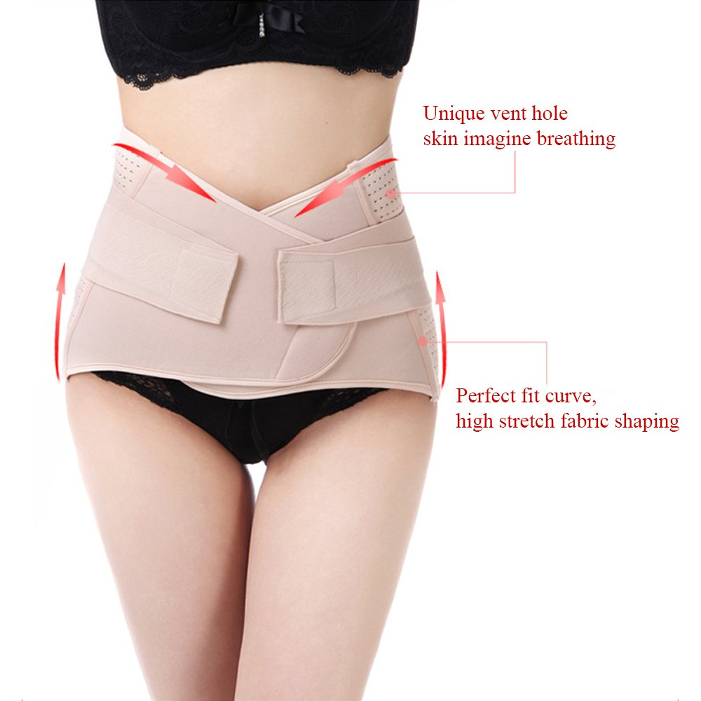 Postpartum Belly Belt Breathing Waistband Restores Elasticity Support Recovery Waist Trim Healthy Women With Abdominal Girdle