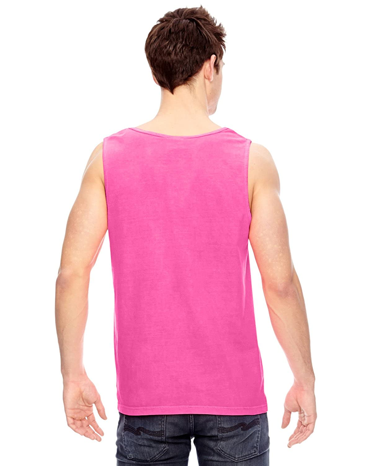 Comfort Colors Pigment Dyed Tank Top 9360-Neon Pink