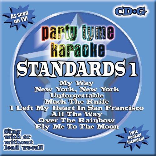 Standards Karaoke Cd - Party Tyme Karaoke - Standards 1 (8+8-song CD+G)