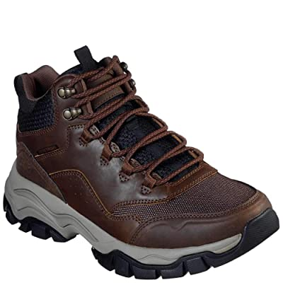Skechers Men's Stak-Ultra Altro Boots Brown | Hiking Boots...