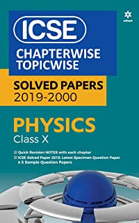 Amazon in: Buy ICSE Physics Chapterwise-Topicwise Solved