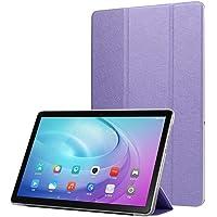 Longtis Galaxy Tab S5e Funda, Funda Ligera Delgada Cubierta Plegable Funda Tableta Detrás Cáscara Dura con Soporte Compatible con Galaxy Tab S5e 10.5 Pulgadas T720 T725 2019