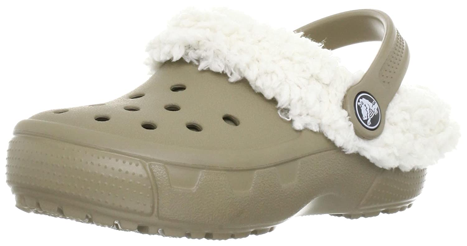 Crocs Mammoth Full Color Clog Khaki/Oatmeal C6/7 M US Toddler 649652
