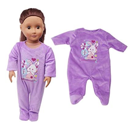 Doll Clothes Outfit Set Fits for 16-17in Reborn Dolls Clothes Accessories Pink