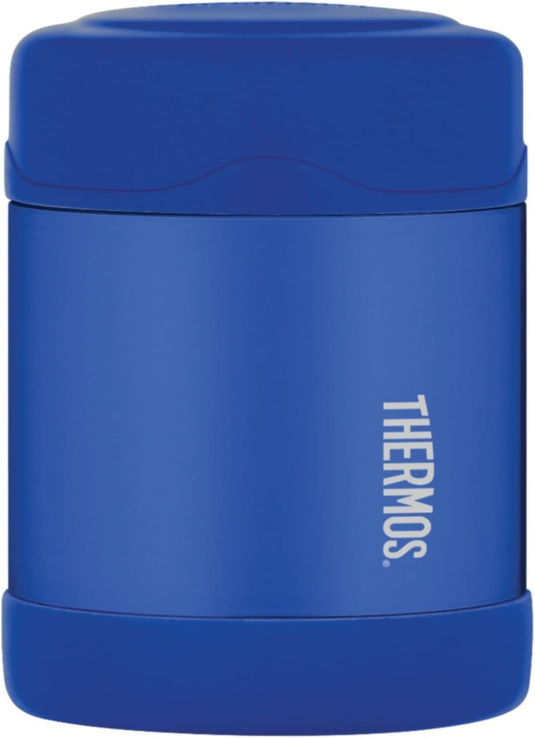 Thermos Funtainer Blue Stainless Steel Vacuum Insulated 10 Ounce Food Jar, Set of 2