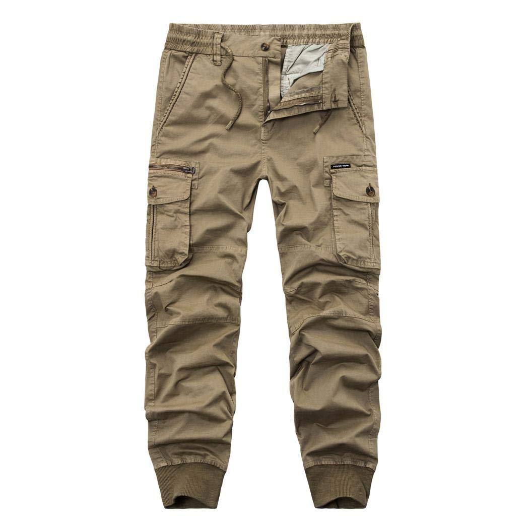 NMY Uomo Pantaloni Cargo, Pantaloni Tattici Militari Uomo, Pantaloni da Lavoro Chino Uomo, Pantaloni lungo uomo Cargo di Multi-pocket
