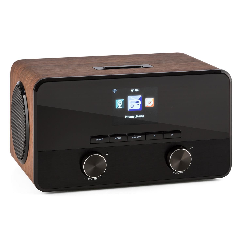 Auna Connect 100 Radio Internet Wifi Avec Lecteur Usb Mp3 Et Prise