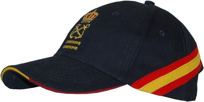Gorra Bandera de España Patrón de Yate (PY) + 2 Antivientos ...