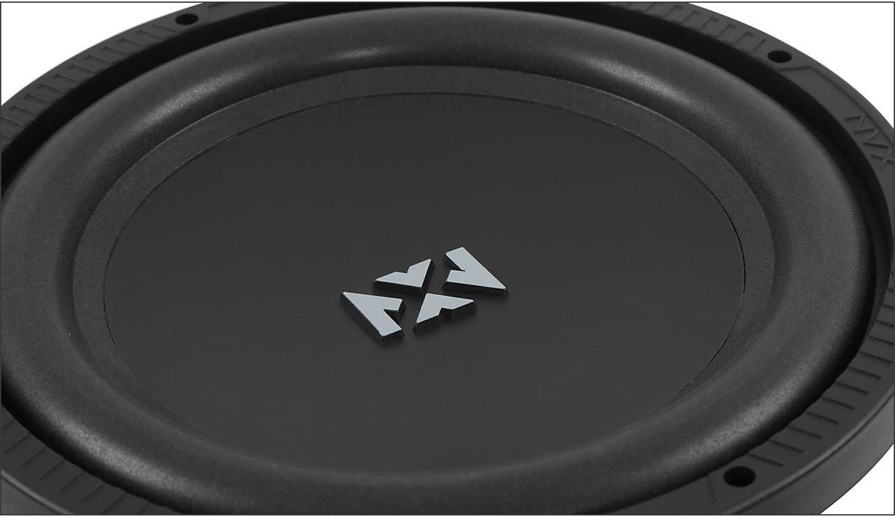 NSW104V2 NVX 10 inch Professional Grade 350 watt RMS 700 watt Peak Dual 4-Ohm N-Series V2 Car Subwoofer