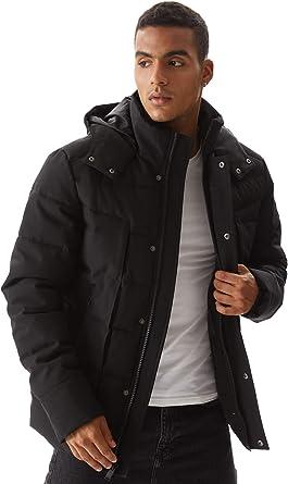 Amazon.com: Molemsx Men's Down Alternative Jacket Outdoor Sports Windproof  Water-Resistant Parka Expedition Mountain Coat XS-3XL: Clothing